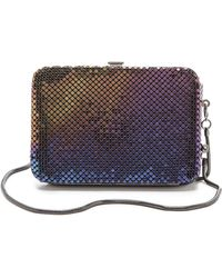 Whiting & Davis - Framed Wallet with Phone Case - Lyst