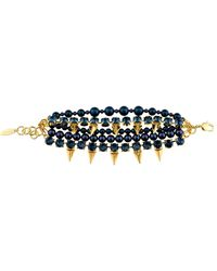 Joomi Lim Faux-Pearl And Crystal Bracelet - Lyst