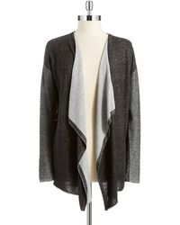 Two By Vince Camuto Open Front Knit Cardigan - Lyst