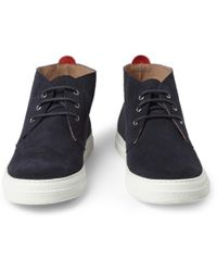 Oliver Spencer - Beat Suede Rubber-Soled Chukka Boots - Lyst