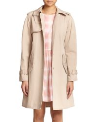 Marc By Marc Jacobs Classic Cotton Trenchcoat - Lyst