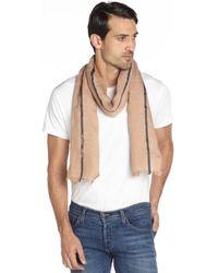 Gucci Samlon Cashmere-Silk-Linen Scarf - Lyst