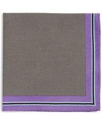 Calibrate - Microdot Pocket Square - Lyst