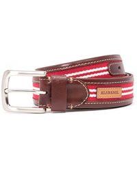 Jack Mason Brand | 'tailgate - Alabama Crimson Tide' Belt | Lyst