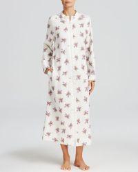 Carole Hochman - Berry Bouquet Zip Robe - Lyst