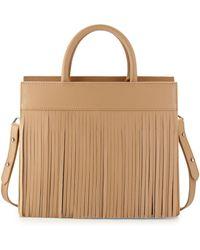 Posse | Beverly Leather Fringe Satchel Bag | Lyst