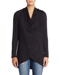 Bobeau - Two-button Cardigan - Lyst