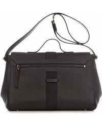 Christopher Kane Safety Buckle Leather Shoulder Bag - Lyst