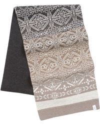 Victorinox - Ombre Intasia Scarf - Lyst