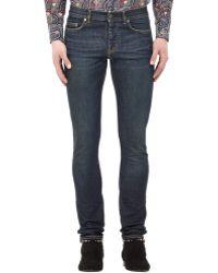 Saint Laurent Classic Denim Jeans - Lyst