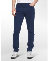 Calvin Klein | Jeans Tapered Leg 5-pocket Chino Jeans | Lyst