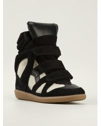 Isabel Marant 'The Beckett' Sneakers - Lyst