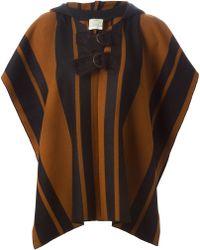 Forte Forte | Striped Hooded Jacket | Lyst