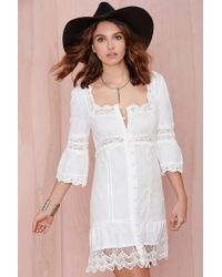 Nasty Gal Stone Cold Fox Austin Dress - Lyst