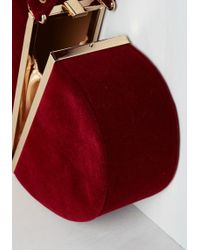Nila Anthony - Keen Of Hearts Clutch In Red - Lyst ff632ca520