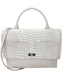 Givenchy Croc Stamped Medium Shark Tote - Lyst