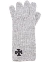 Tory Burch - Whipstitch Gloves - Black - Lyst