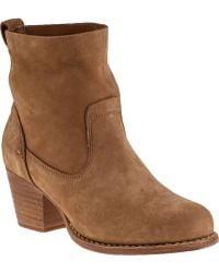 Rag & Bone Mercer Ankle Boot Camel Suede - Lyst