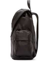 Alexander Wang - Black Leather Marti Backpack - Lyst