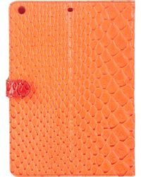 Marc By Marc Jacobs Colorblock Jellysnake Tablet Case - Lyst