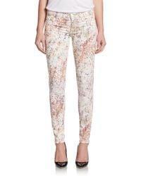 Hudson Krista Super Skinny Jeans - Lyst
