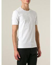 Versace Logo Print T-Shirt - Lyst