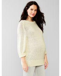 Gap Textured Sweater - Lyst