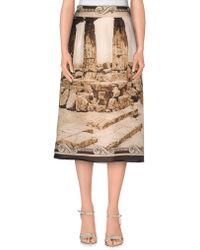 Dolce & Gabbana | 3/4 Length Skirt | Lyst