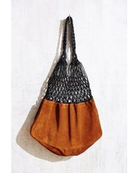 Ecote - Leather Net Market Tote Bag - Lyst