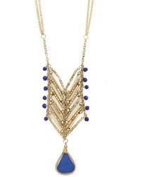 Zad Fashion Inc. - I'Ll Bead Seeing You Necklace - Lyst
