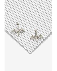 Nasty Gal Leyari Jacket Earrings - Lyst