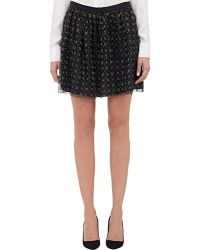 Boy by Band of Outsiders - Netted Lace Mini Skirt - Lyst