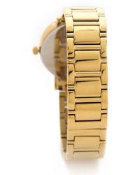 Kate Spade Gramercy Grand Bracelet Watch - Gold - Lyst