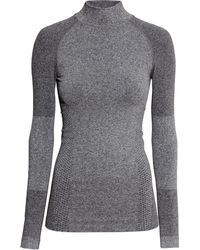 H&M Seamless Base Layer Top - Lyst