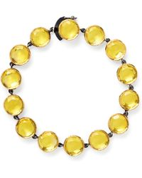 She Bee Gem - Youre So Fancy Bracelet in Yellow - Lyst