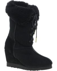 Love From Australia - Chloe Wedge Boots - Lyst