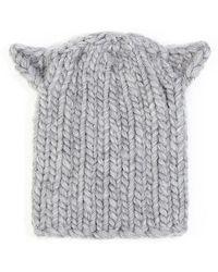 Eugenia Kim Felix Cat-ear Knit Hat - Lyst