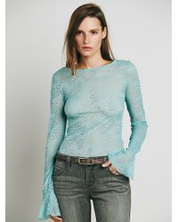 Free People Trumpet Sleeve Layering Cami - Lyst