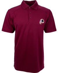 Cutter & Buck - Men's Short-sleeve Washington Redskins Polo - Lyst