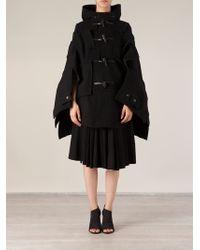 Junya Watanabe Layered Design Oversized Cape - Lyst