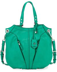 orYANY | Victoria Leather Tote Bag | Lyst