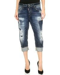 DSquared2 Big Deans Brother Jeans  Blue - Lyst
