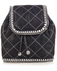 Stella McCartney Falabella Quilted Mini Backpack - Lyst