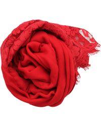 Valentino | Lace Shawl | Lyst