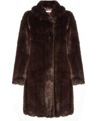 John Lewis - Monique Luxe Faux Fur Coat - Lyst
