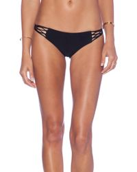 Mikoh Swimwear Rockies Crocheted Bikini Bottom - Lyst