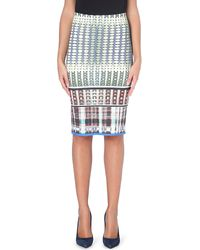 Clover Canyon Donegal Neoprene Pencil Skirt - Lyst