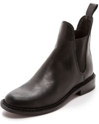 Rag & Bone Dartford Chelsea Booties - Black - Lyst