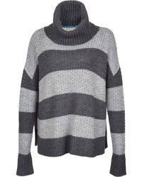 Alice + Olivia Chunky Turtleneck Sweater - Lyst