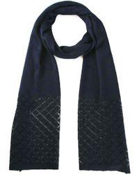 Missoni Chevron Crochet Knit Scarf - Lyst